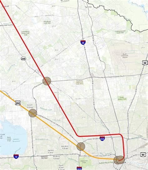 texas high speed rail map possible station locations for houston to dallas high speed rail jersey mangum manor
