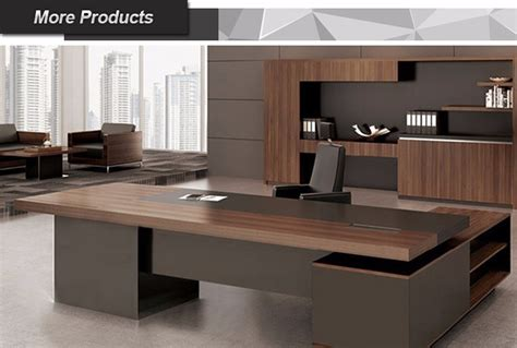modern executive table design office  shape table office