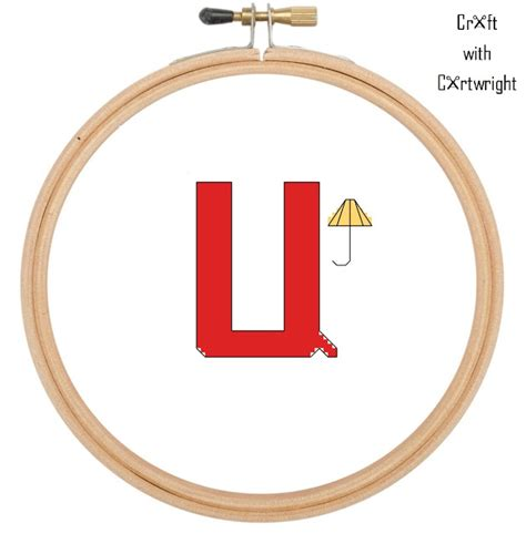 craft with cartwright free cross stitch l is for lemon free cross stitch pattern u is for umbrella craft with
