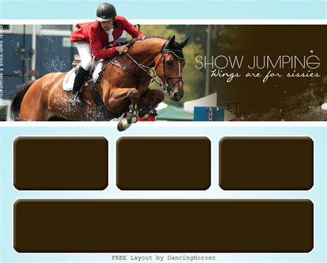 layout design howrse free howrse layout showjumping by gracefuleigh on deviantart