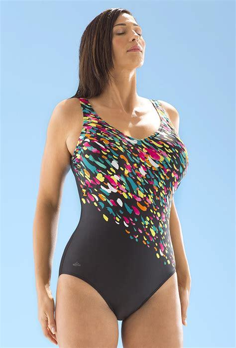 V Swimsuit chlorine resistant confetti v neck swimsuit swimsuits