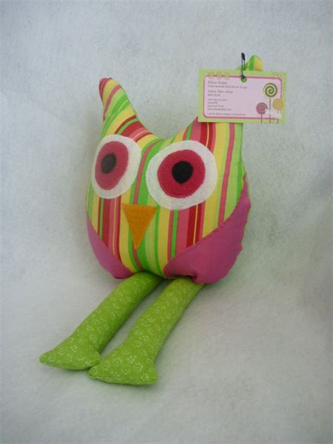 owl decor for nursery owl pillow for nursery room decor in bright pink stripes
