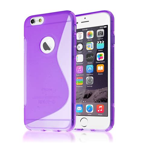 Iphone 6 Sea Wave Tpu s line wave style series transparent gel tpu cover