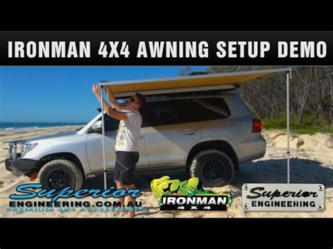 tripn au ironman4x4 awning review doovi