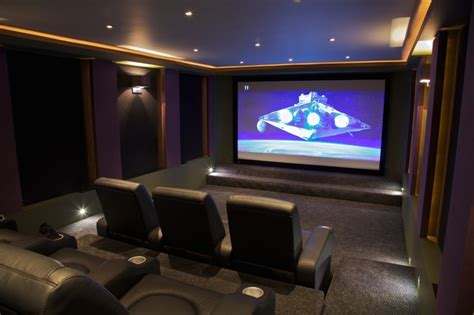 soundsuede acoustical panels contemporary home theater