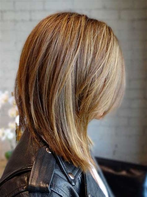 short angled bob beautiful long shoulder length angled haircuts long hairstyles