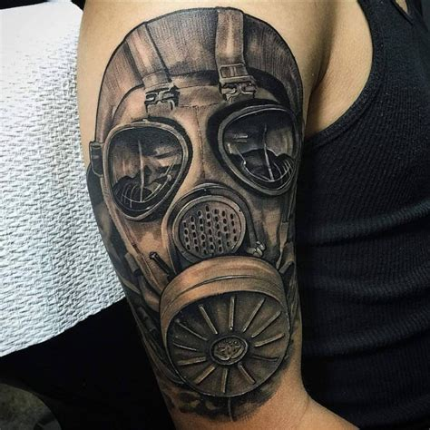 gas mask tattoo designs gas mask designs pictures to pin on