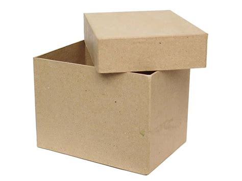 Craft Paper Box - paper mache rectangle box by craft pedlars 12 boxes