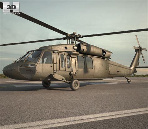Helikopter Sikorsky Uh 60d Black Hawk sikorsky uh 60 black hawk 3d model hum3d