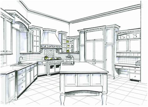 Kitchen Design Sketch Kitchen And Bath Design Designs By David L
