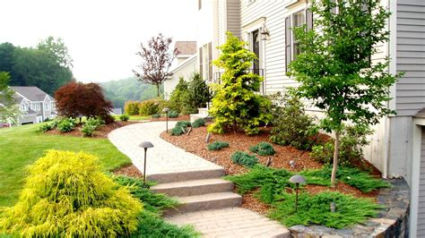 Landscape Design Front Yard Curb Appeal - front yard landscaping ideas by a trumbull ct landscaper youtube