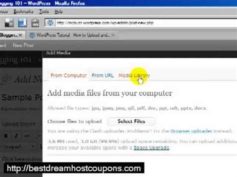 tutorial wordpress doc wordpress tutorial how to upload link to a pdf