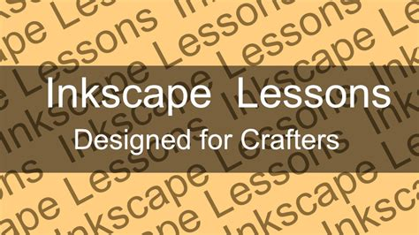 inkscape tutorial banner inkscape tutorials for crafters michellemybelle creations