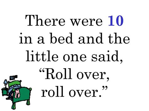 there were ten in the bed ten in a bed powerpoint by camille page ppt video