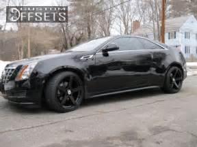 2012 Cadillac Cts Rims Wheel Offset 2012 Cadillac Cts Coupe Flush Stock Custom Rims
