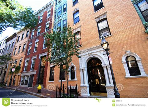 Apartments In Boston Beacon Hill Beacon Hill Boston Royalty Free Stock Photos Image 6283518