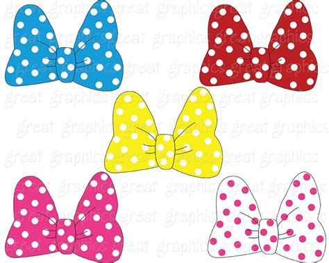 minnie mouse bows mickey and friends photo 37665182