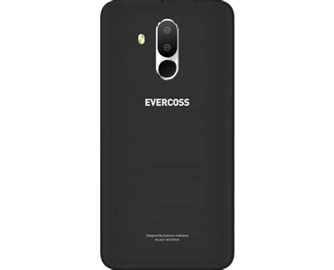 Evercoss M50 4g Black evercoss m50 max let s connect smartphone for everyone