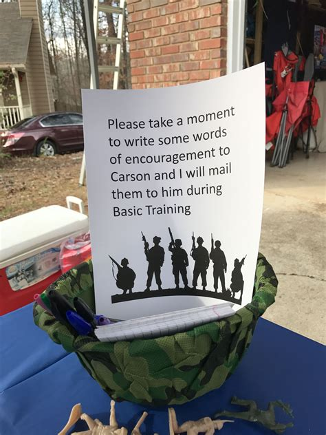 american themed party quotes could let the kids write to soldiers and send them air