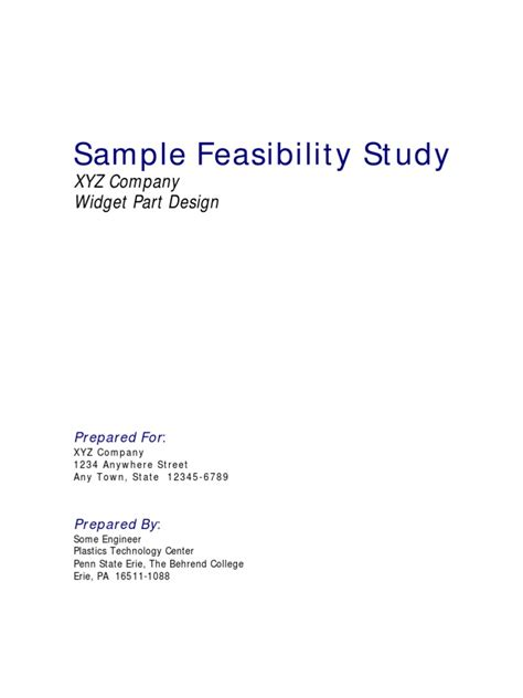 manufacturing feasibility study template feasibility study exle volume