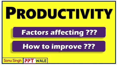 Bba Mba Definition by Productivity Meaning Factors Affecting Ways To