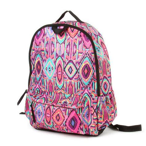 tribal pattern rucksack cute tribal canvas backpack www imgkid com the image