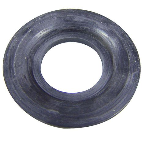 bathtub drain seal rubber tub drain gasket in black 88209 the home depot