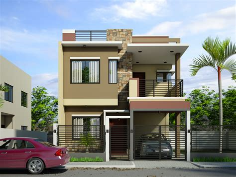 2 home designs breathtaking storey residential house home design