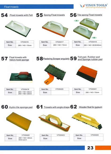 What Type Of Trowel For Floor Tile by Float Trowels Tile Cleaner Tile Sponge Float Trowels