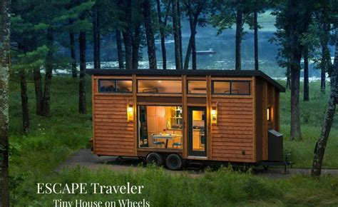 Small Homes Escape Escape Traveler Tiny House On Wheels