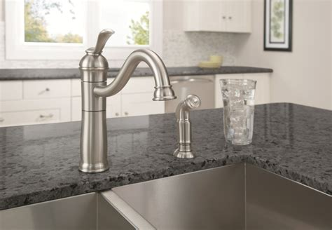 moen kitchen faucet reviews medium size of handle kitchen