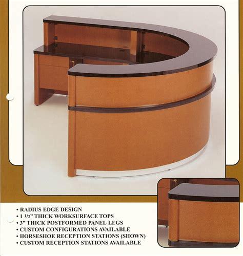 Bookcase And Desk Horseshoe Reception Desk Laminate Indoff Reception