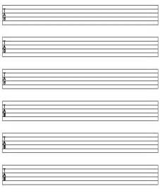 tab template for word guitar tab template for penultimate
