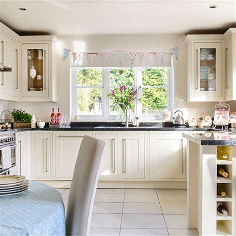 cream country kitchen ideas country style cream kitchen decorating kitchens and