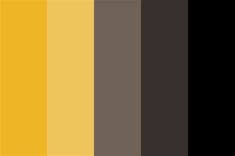 hufflepuff colors hufflepuff palette color palette
