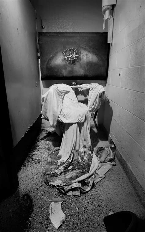 A Shrouded Porcelin God - Photo of the Abandoned The Ladd