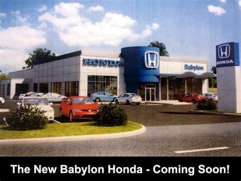 babylon honda service center babylon honda west babylon ny 11704 car dealership and