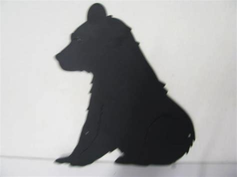 Goat Standing On Cow by Bear Sitting Metal Wildlife Wall Yard Art Silhouette On