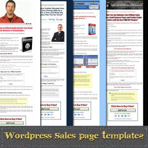 wordpress sales landing page themes design marketing