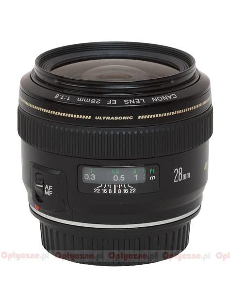 Lens Ef 28mm F 1 8 Usm canon ef 28 mm f 1 8 usm review introduction lenstip
