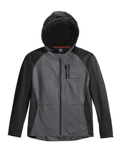 Zipper Jaket Fender harley davidson zip jacket scuba neck at thunderbike shop