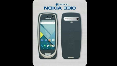 Nokia 3310 Android nokia 3310 2017 android leaked photo specifications price and launched date at mwc 2017