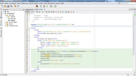 jsp tutorial in netbeans programaci 243 n0011 suma 2 numeros en jsp y netbeans