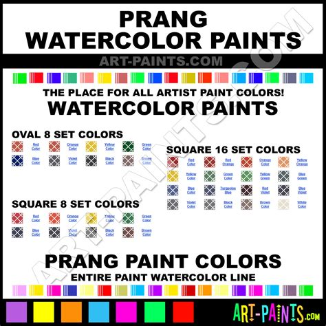 prang watercolor paint brands prang paint brands watercolor paint oval 8 set watercolor