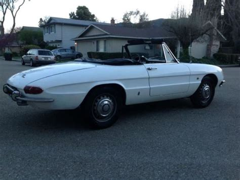 1967 alfa romeo for sale 1967 alfa romeo spider classic car by owner midway city
