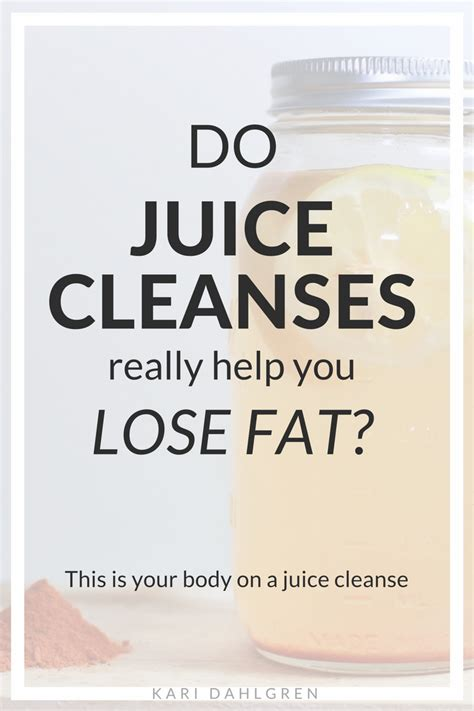 Does Juice Detox Help You Lose Weight by Do Juice Cleanses Really Help You Lose Kari Dahlgren