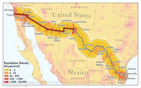 us mexico border wall map international borders rebrn