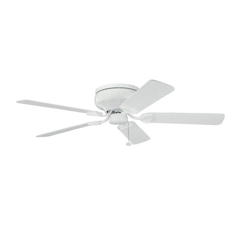 kichler low profile 52 inch ceiling fan with five blades