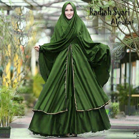 Baju Muslim Syar I jual beli baju muslim gamis syar i radiah alpukat