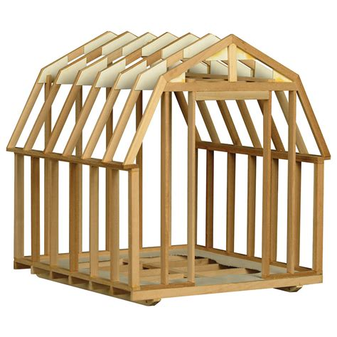 Building An A Frame House by Utility Building Framing Kit 101 W31573